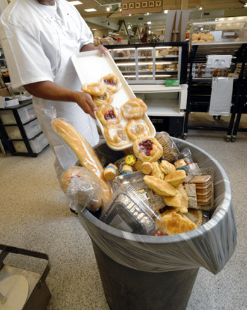 bakery items fading, drying out